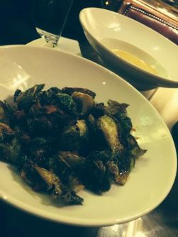 The brussells sprouts at the Driskill were one food highlight at SXSW this year. Credit: Kim Voynar.