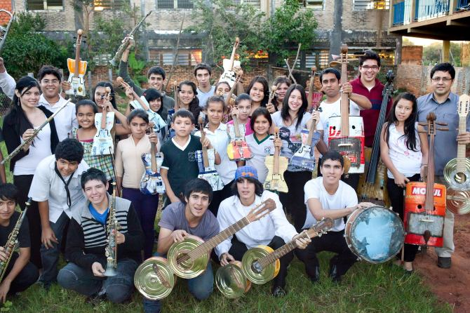Landfill Harmonic looks at a resourceful Paraguayan youth orchestra.