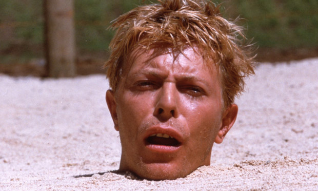 Nagisa Oshima's Merry Christmas Mr. Lawrence is up to its neck in Bowie allure.