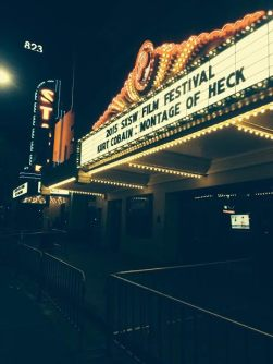Kurt Cobain: Montage of Heck was one music-film highlight at SXSW. Credit: Kim Voynar.