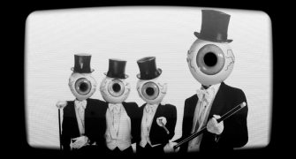 All eyes were on the Residents movie Theory of Obscurity at SXSW.