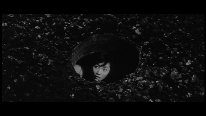 Underworld gets literal in this moment from Seijun Suzuki's Underworld Beauty .