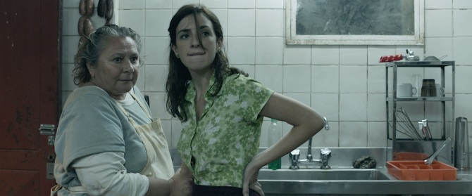 "Rita Cortese as Cocinera and Julieta Zylberberg as Moza in ""The Rats,"" from Wild Tales . Photo courtesy of Sony Pictures Classics."