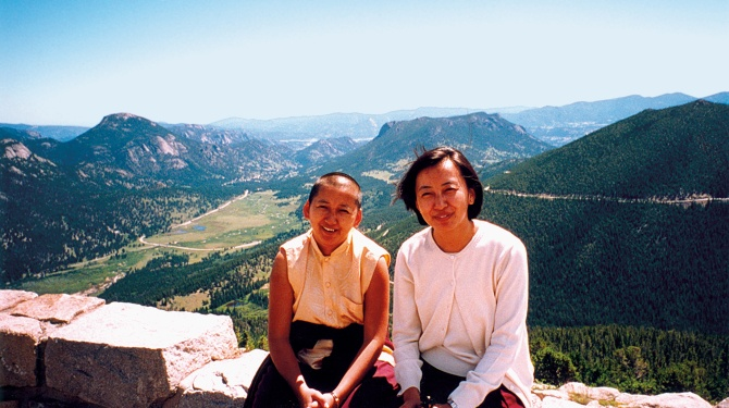 Jetsun Khandro (left) is profiled in Khandro: A Woman's Path of Peace.