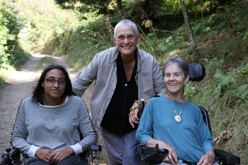 """Sabrina Schroeder-Dammann, Nancy """"Fu"""" Schroeder and Dr. Grace Dammann in STATES OF GRACE"""