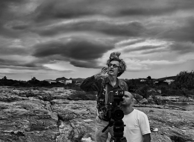 Director Wim Wenders, photographed by Sebastião Salgado. Credit: Courtesy of © Sebastião Salgado/Amazonas Images/Sony Pictures Classics.