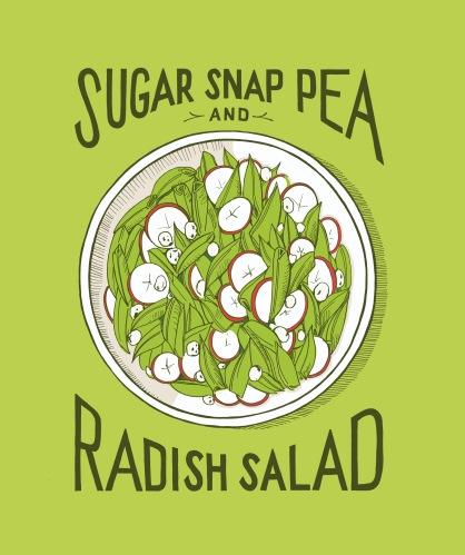 SugarSnapPeaandRadishSalad