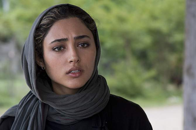 Golshifteh Farahani in a scene from Asghar Farhadi's ABOUT ELLY. Credit: Courtesy of Cinema Guild.