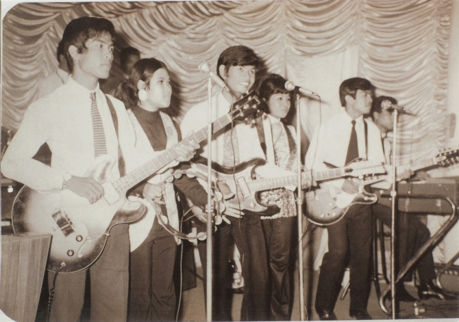 Bayon Band (photo from personal collection of Samley Hong)