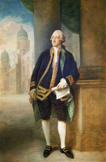The man behind the meal: John Montagu, the 4th Earl of Sandwich.
