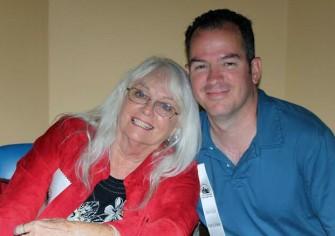 Joyce Taylor and author Joe Jordan