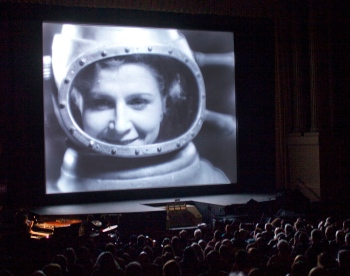 Soviet sci-fi Cosmic Voyage at the 2014 San Francisco Silent Film Festival. Credit: Pamela Gentile/San Francisco Silent Film Festival.