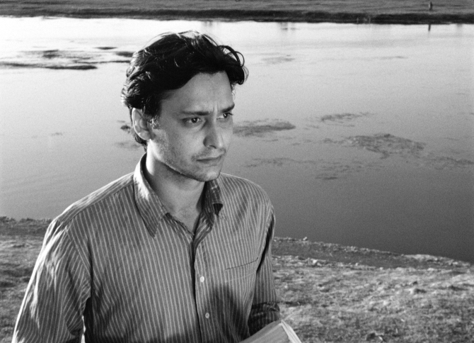 Soumitra Chatterjee as Apu in Apur Sansar . Credit: Courtesy of Janus Films.