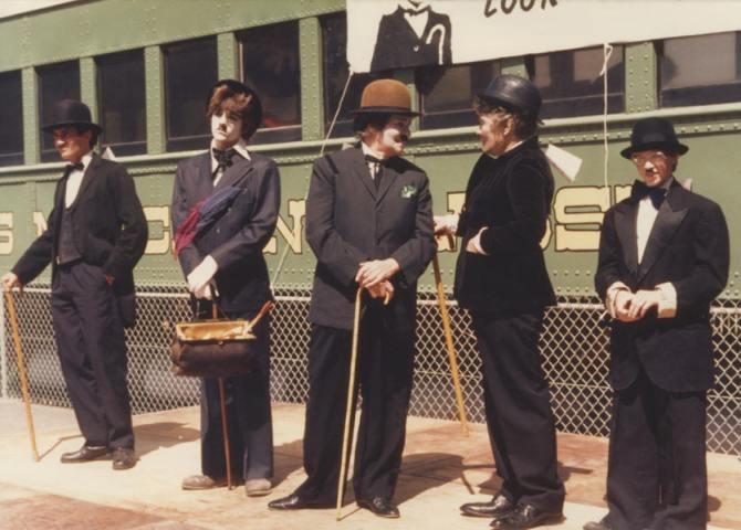 Chaplin train