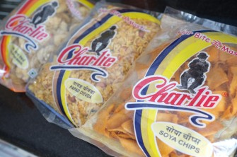 The ongoing popularity of Chaplin in Indian has even inspired snack foods.