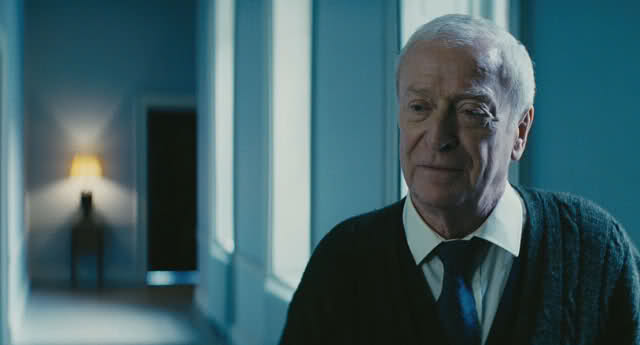 """Every fine evening, I'd sit there and order a Fernet-Branca"": Michael Caine as Alfred Pennyworth in The Dark Knight Rises ."