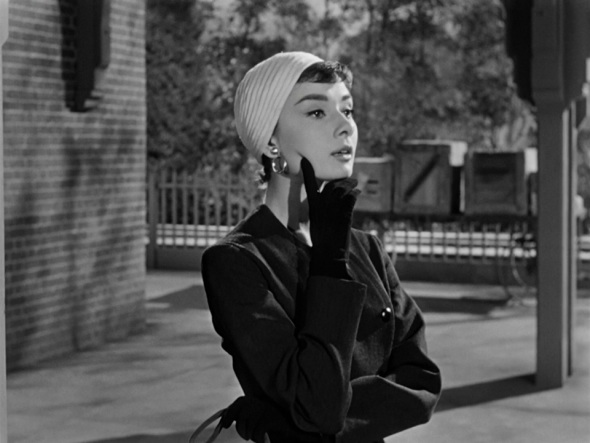 Still from Billy Wilder's Sabrina (1954).