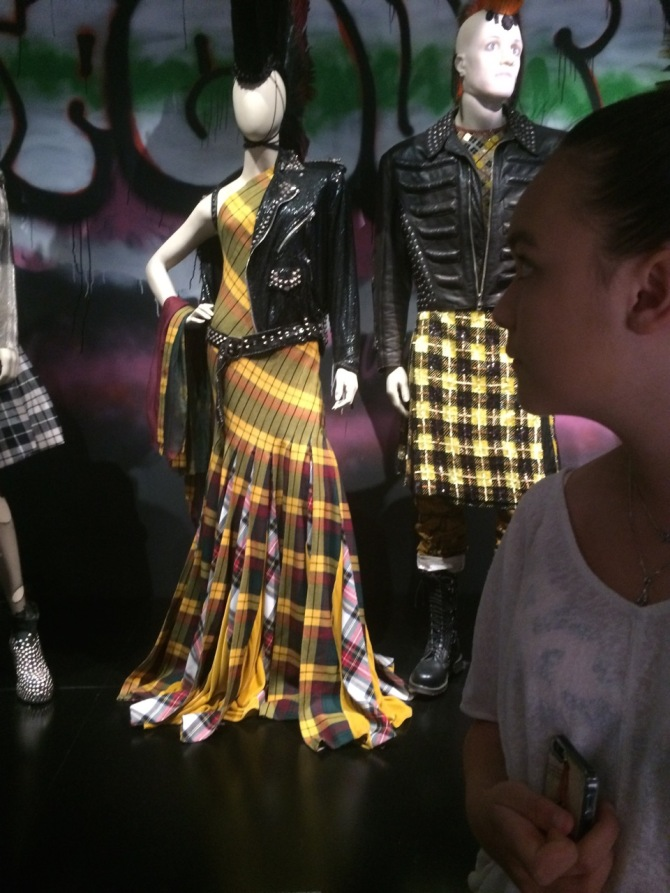 Royal, Jean Paul Gaultier exhibit, Grand Palais.