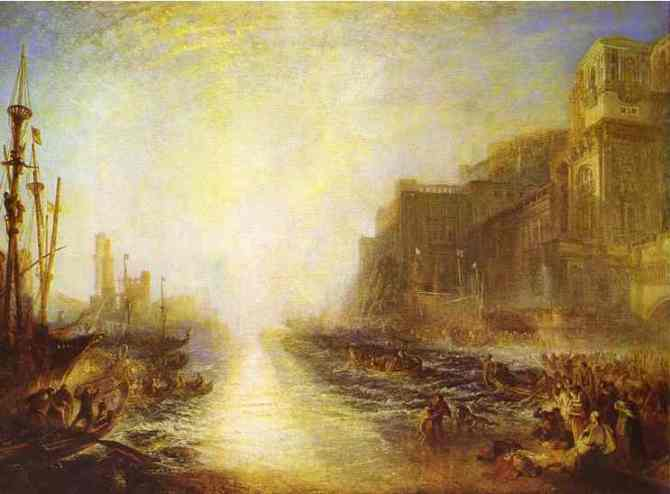 Joseph Mallord William Turner, Regulus, 1828, reworked and exhibited 1837. Oil on canvas. Tate, accepted by the nation as part of the Turner Bequest, 1856, N00519. Image © Tate, London 2015