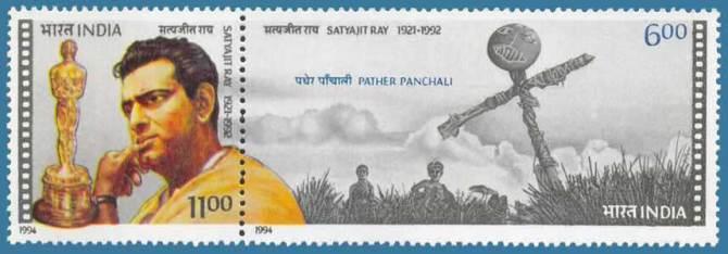 Satyajit_Ray_postal_stamp