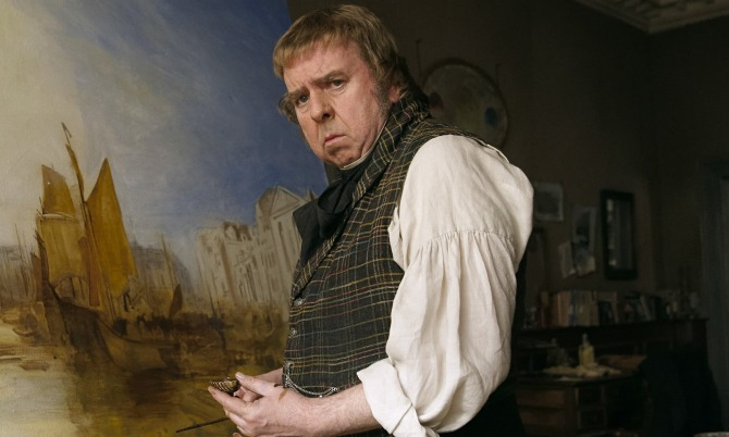 Timothy Spall is J.M.W. Turner in Mr. Turner. Photo courtesy Sony Pictures Classics.
