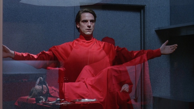 Jeremy Irons in Dead Ringers . Credit: Courtesy of 20th Century Fox.