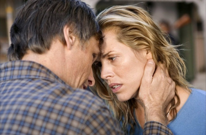 Viggo Mortensen and Maria Bello in A History of Violence. Credit: Courtesy of Warner Bros.