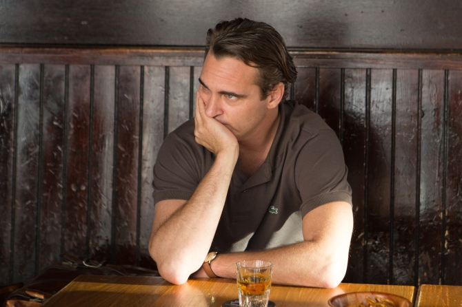 Joaquin Phoenix as Abe in Irrational Man. Credit: Photo by Sabrina Lantos © 2015 Gravier Productions, Inc.; courtesy of Sony Pictures Classics.