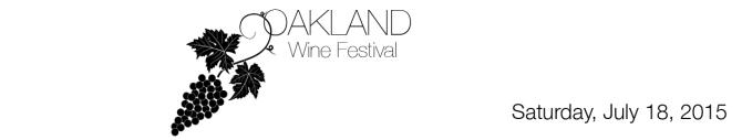 Oakland wine