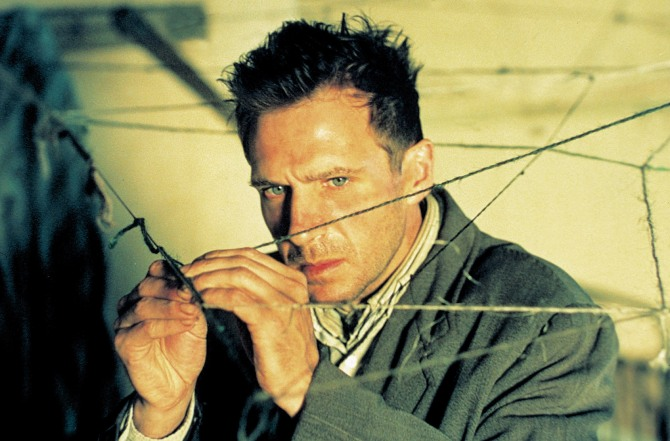 Ralph Fiennes in Spider . Courtesy of Sony Pictures Classics.