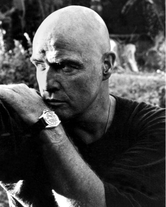 Marlon Brando in a promotional still for Apocalypse Now. Credit: Silver Screen Collection/Getty Images.