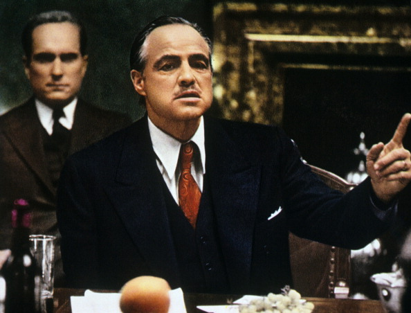 Marlon Brando as Don Vito Corleone in <a href=