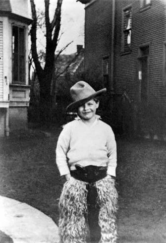 Marlon Brando as a boy.