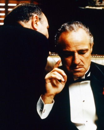 Marlon Brando as Don Vito Corleone in The Godfather. Credit: Silver Screen Collection/Getty Images.