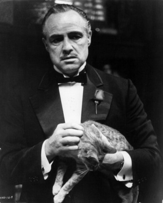 Marlon Brando as Don Vito Corleone in a promotional still for The Godfather. Credit: Paramount Pictures/Getty Images