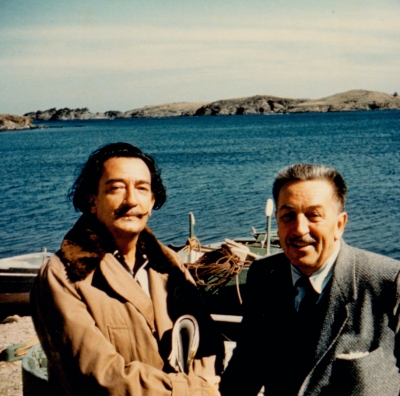 Salvador Dali and Walt Disney