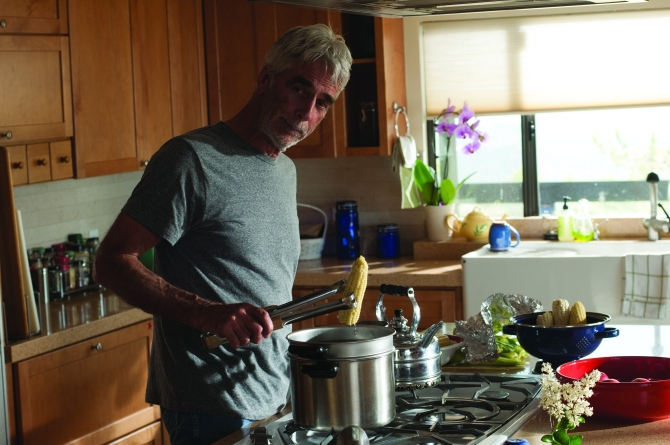 Sam Elliott as Karl in Grandma. Photo by Glen Wilson, courtesy of Sony Pictures Classics.