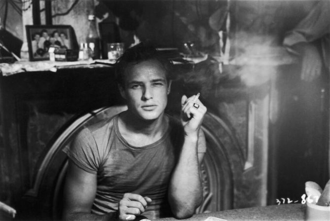 Vivien Leigh and Marlon Brando in A Streetcar Named Desire. Credit: Alamy/Showtime.