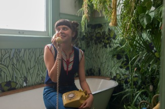 A post-virginity Minnie (Bel Powley) in The Diary of a Teenage Girl.