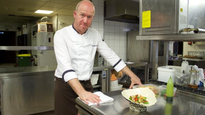 Slovenian Chef Uros Stefelin