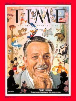 Walt in 1954.