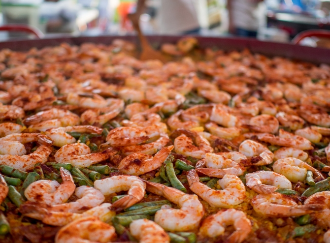 Paella; Photo by Paul Gilbert-Snyder