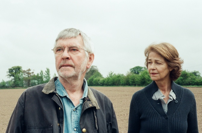Tom Courtenay and Charlotte Rampling in Andrew Haigh's 45 Years. Courtesy IFC Films/Mill Valley Film Festival.