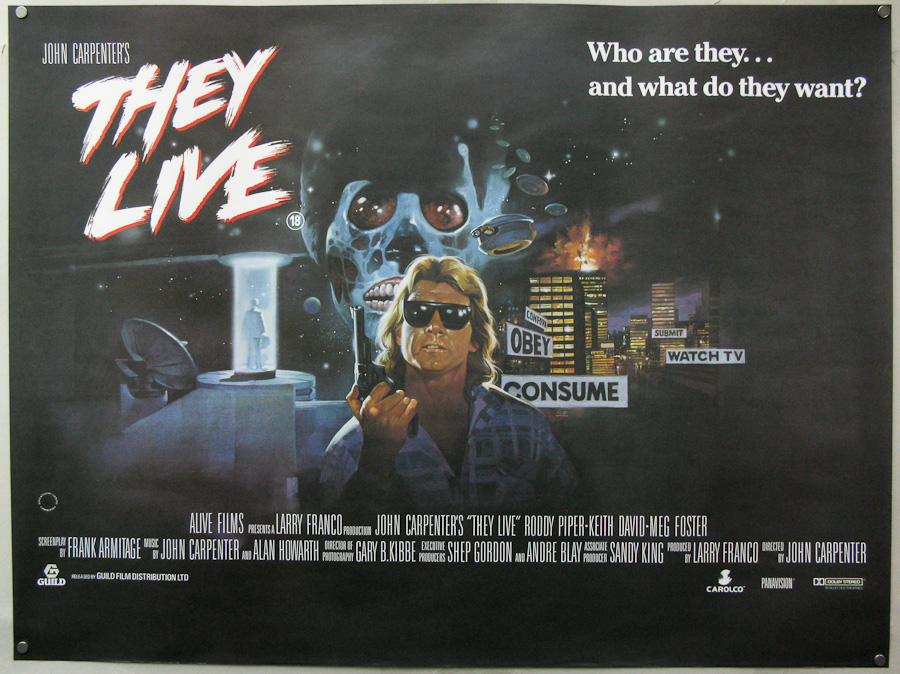 1988 Movie Posters: Shaken & Stirred: Colonial Cosmo— And THEY LIVE