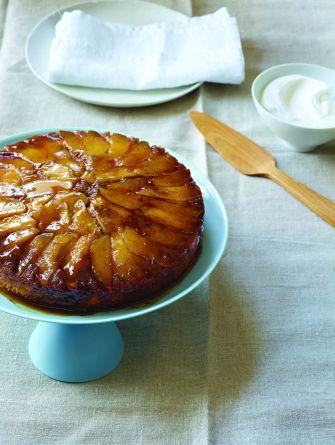 97_Caramel Apple Upside-Down Cake