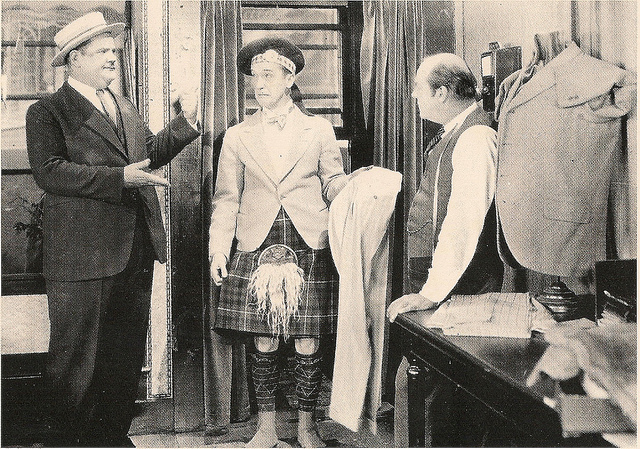 Buster Keaton in Putting Pants on Phillip