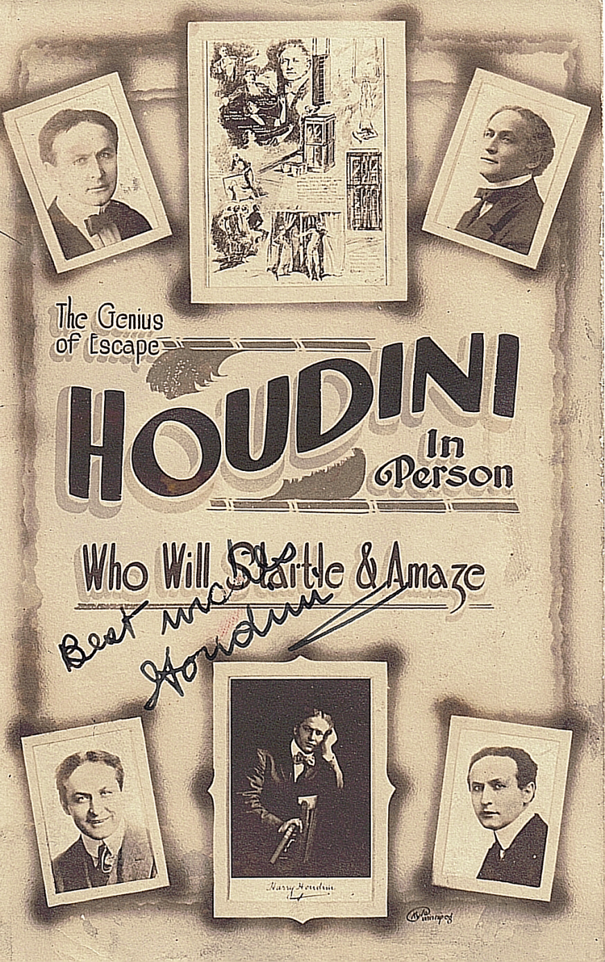 the history of harry houdini essay History » history: biographies  even as a child erich weiss, aka harry houdini, knows that his goal in life is to become a world famous illusionist it was difficult for erich's family being pilgrims from europe  express your owns thoughts and ideas on this essay by writing a grade and/or critique.