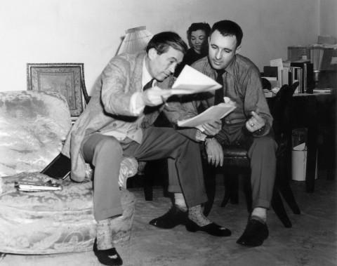 John Huston and Ray Bradbury.