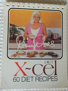 Diana Dors - x-cel diet book