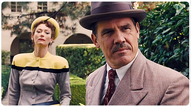 Frances McDormand and Josh Brolin in the Coen Brothers' Hail, Caesar!